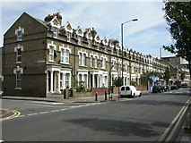 TQ3377 : Peckham, terraced houses by Mike Faherty