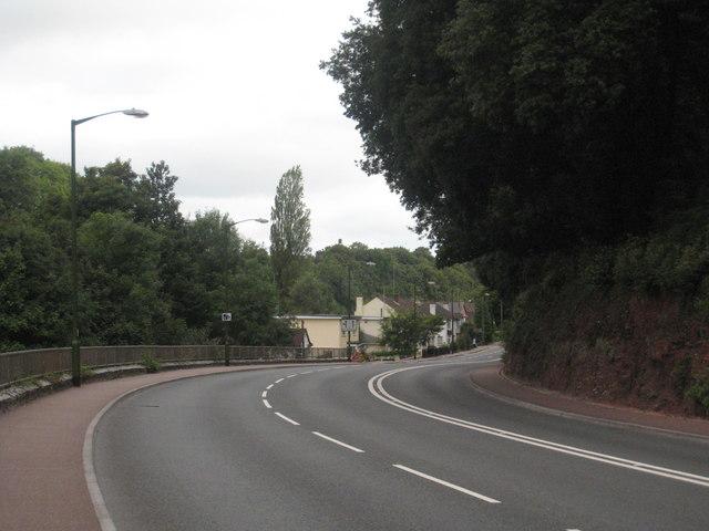 The A3022 Newton Road at Chapel Hill