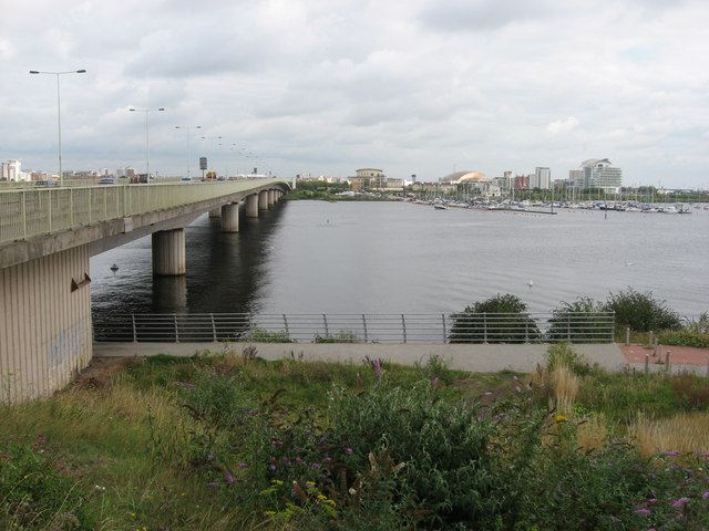 Cardiff Bay and Flyover