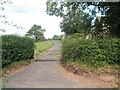 SO5790 : Gate just before St Michael, Stanton Long by Basher Eyre