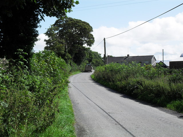 Road at Moy Townland