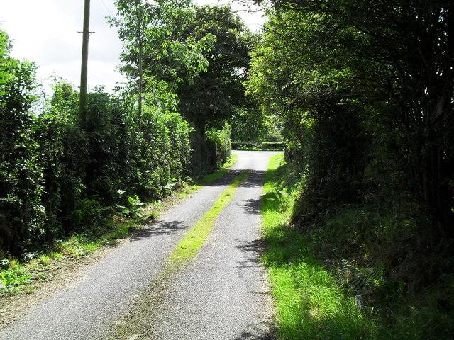 Road at Drumagelvin
