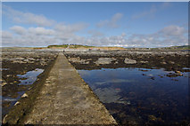 HY2428 : Brough of Birsay tidal causeway by Stephen McKay