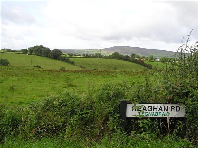 Legnabraid Townland by Kenneth  Allen