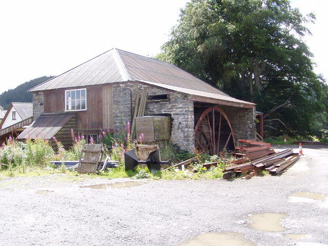 The old sawmill Abermagwr