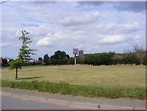 TM4160 : Friston Beacon & Friston Village Green by Geographer