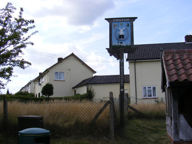 Friston Village Sign