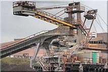 NZ5625 : Bulk Ore Conveyor, Redcar Blast Furnace by Mick Garratt