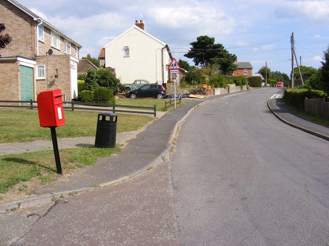 School Road and School Road Postbox