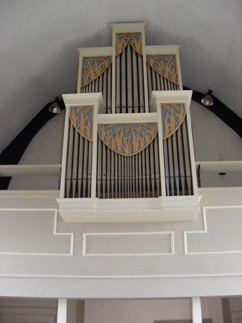 The Organ of St.John the Baptist Church, Snape