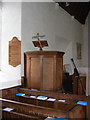 TM3959 : The Pulpit of St.John the Baptist Church, Snape by Adrian Cable