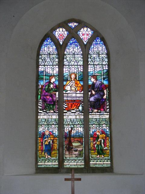 The Window of St.John the Baptist Church, Snape
