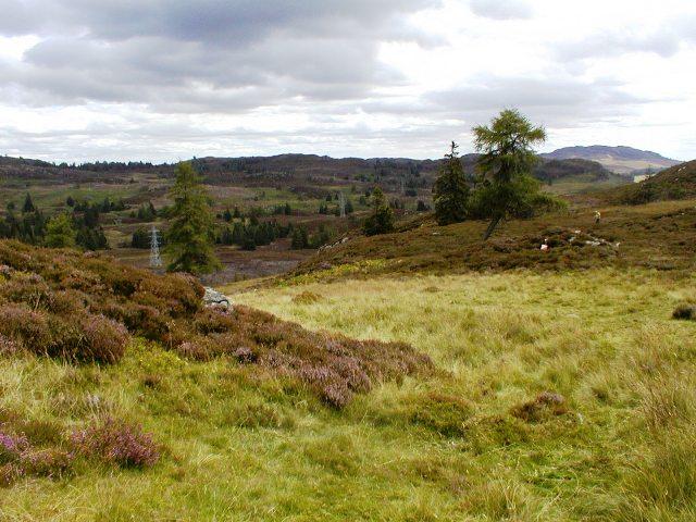 North of Creag Liath