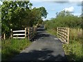 NS3976 : Footbridge on Cycle Route by Lairich Rig