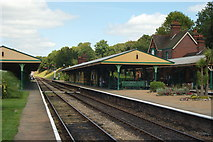 TQ3729 : Horsted Keynes Station, Sussex by Peter Trimming