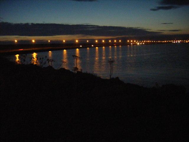 Portland Harbour, Dusk