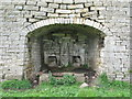 NY8446 : Arch of the Slag Hill Lime Kiln by Mike Quinn