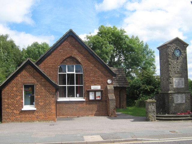 Dunton Green Village Hall and War Memorial
