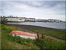 NX4736 : Isle of Whithorn harbour by Richard Law