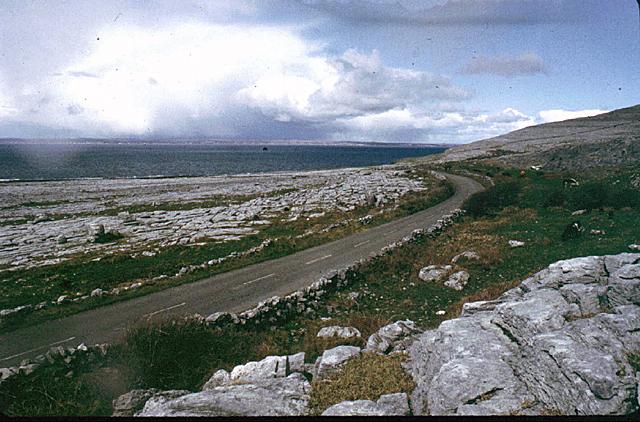 R479 between The Burren & the deep blue sea