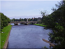 NT3472 : The River Esk at Musselburgh by James Denham