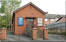 J3267 : Edenderry gospel hall near Belfast by Albert Bridge