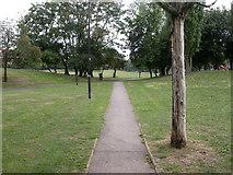 TQ2976 : South Lambeth, Larkhall Park by Mike Faherty