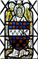 TM3197 : The church of SS Margaret and Remigius -  medieval glass by Evelyn Simak