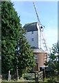 TM1959 : Framsden Post Mill by Stuart Shepherd