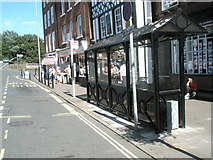 SO7875 : Bus shelter in Load Street by Basher Eyre