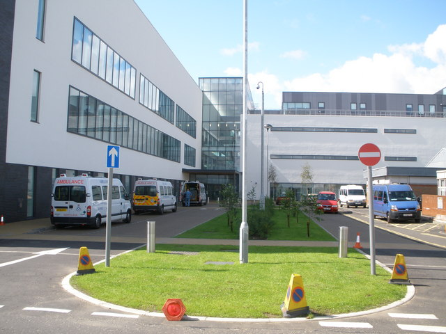 New section of Stobhill Hospital