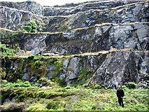 SN0729 : Levels at Rosebush quarry by ceridwen