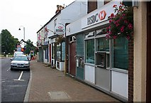 SO7845 : HSBC Bank, Barnards Green, Malvern by Bob Embleton