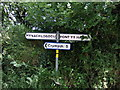 SN1328 : Road sign by ceridwen