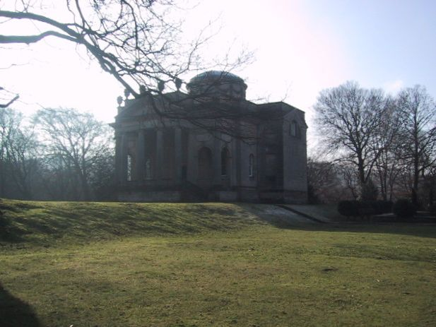 Gibside: the Chapel in February frost