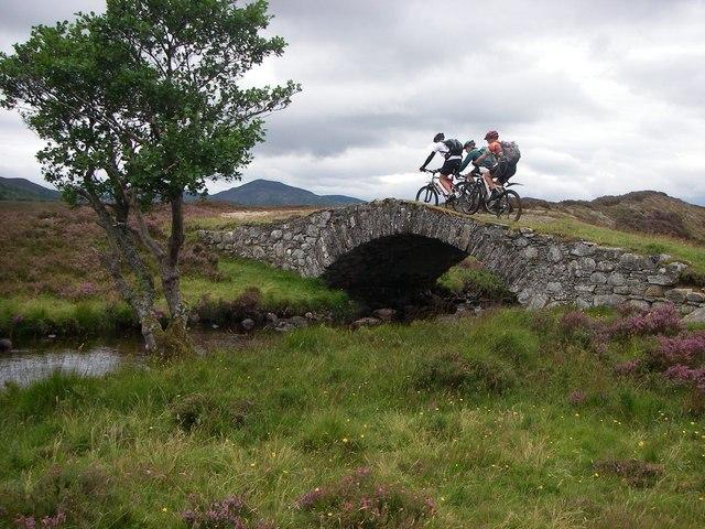 Bridge on General Wade's military road