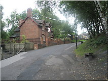 SJ6903 : Approaching the doctor's house at Blist Hill Open Air Museum by Basher Eyre