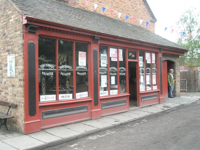 Stationers at Blists Hill Open Air Museum