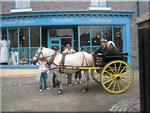 SJ6903 : Going for a ride at Blists Hill Open Air Museum (2) by Basher Eyre
