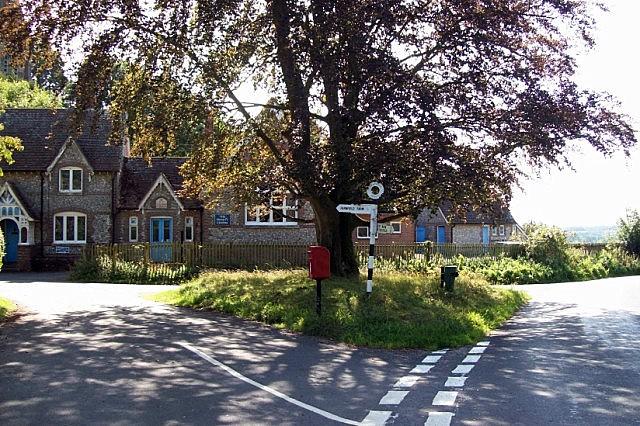 Road Junction At Privett
