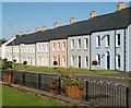 J4059 : New houses, Saintfield (2) by Albert Bridge