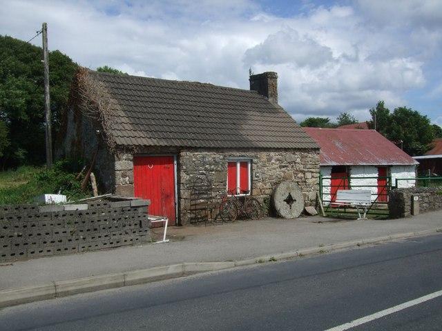 Farm buildings at Mountshannon