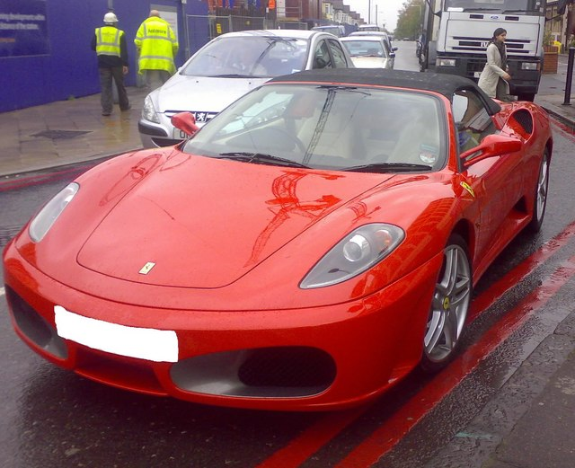 Ferrari F430 - front view
