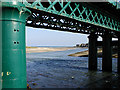 O1671 : Railway bridge & estuary: Laytown by Row17