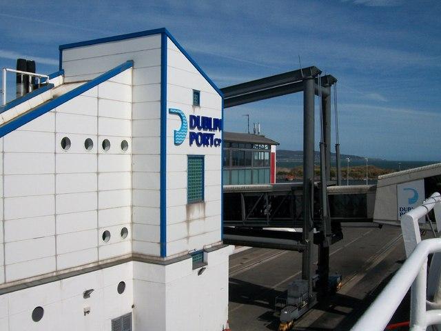 The Car Ferries Terminal Building at Dublin Port