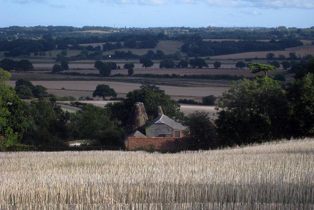 Old Place Farm Oasts, Church Road, Sandhurst, Kent