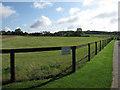 TL6150 : Horse paddock by Hugh Venables