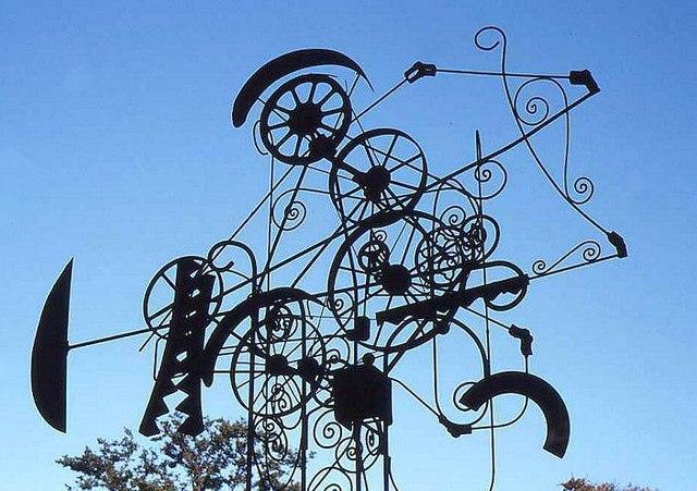 Old sculpture, Queen's University, Belfast