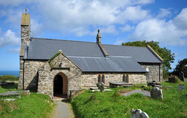 St. Gwyndaf's church Llanwnda