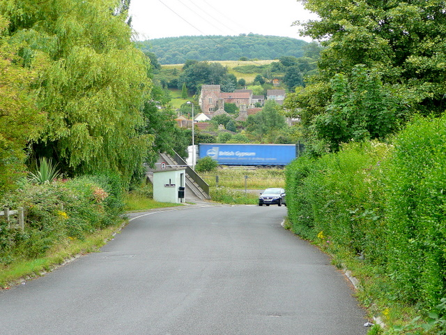 Station Road, Portbury
